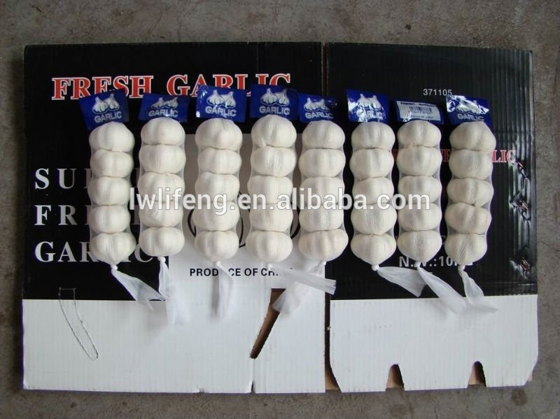2017 chinese perfect quality pure white garlic