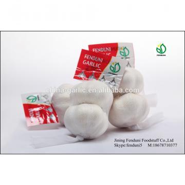 China White Fresh Garlic Small Packaging 6p/5p/4p/3p/2p/1p garlic